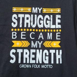 Inspirational women's t shirt